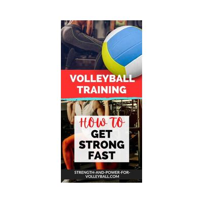 Develop Volleyball Strength