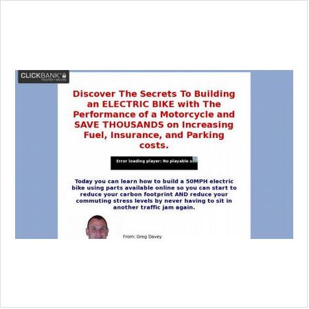 Build an electric bike